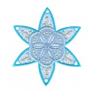 Snowflake 16 Freestanding Lace Snowflakes Embroidery Design