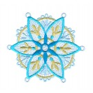 Snowflake 18 Freestanding Lace Snowflakes Embroidery Design