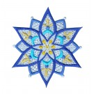Snowflake 21 Freestanding Lace Snowflakes Embroidery Design