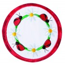 Ladybugs Seasonal Coasters Embroidery Design