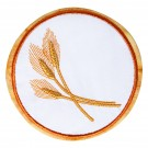 Wheat Seasonal Coasters Embroidery Design