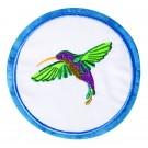 Hummingbird Seasonal Coasters Embroidery Design