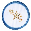Stars Seasonal Coasters Embroidery Design