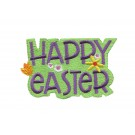 Happy Easter Cottontail Express Embroidery Design