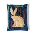 Bucolic Bunny Wooly Pincushions Embroidery Design