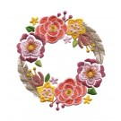 Flower Circle Woodland Adventure Embroidery Design