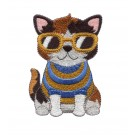 Cat Sweater 5 Cool Cats and Dogs Embroidery Design
