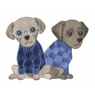 Cool Dogs 2 Cool Cats and Dogs Embroidery Design