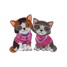 Cool Cats Cool Cats and Dogs Embroidery Design