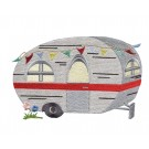 Camper 1 Camping Capers Embroidery Design
