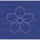 Flower Savvy Sashiko Embroidery Design