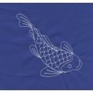 Koi Savvy Sashiko Embroidery Design