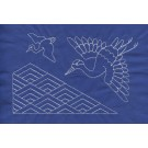 Crane Quilt Savvy Sashiko Embroidery Design