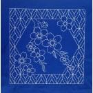 Flower Quilt 2 Savvy Sashiko Embroidery Design