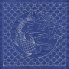 Koi Quilt Savvy Sashiko Embroidery Design