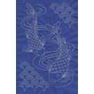 Koi Pattern Savvy Sashiko Embroidery Design