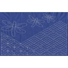 Dragonfly Pattern Savvy Sashiko Embroidery Design