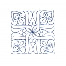 Pattern 21 Charmed Quilting Embroidery Design