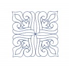 Pattern 23 Charmed Quilting Embroidery Design