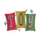 Joy Snowfolk Embroidery Design