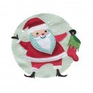 Santa and Stocking Snowfolk Embroidery Design