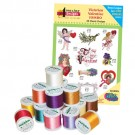 Victorian Valentine with Madeira 18-Spool Thread Kit