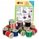 Floral Inspirations I with Madeira 18 Spool Thread Kit