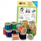 Domestic Goddess with Madeira 18 Spool Thread Kit