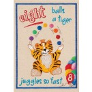 Eight Balls My Circus Counting Book Embroidery Design