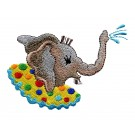 Water Elephant My Circus Book Embroidery Design