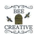 Bee Creative Happy Embroidery Design