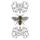 Bee Kind Bee Happy Embroidery Design