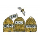 Bee Happy Kind Caring Happy Design