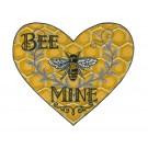 Bee Mine Bee Happy Embroidery Design