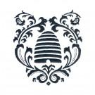 Bee Hive Silhouette Happy Design