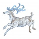 Running Stag Winter Radiance Embroidery Design