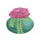 Egg and Rose Easter Flourishes Embroidery Design
