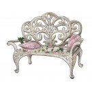 Bench Vintage Elegance Embroidery Design