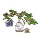 Bird Cages Vintage Elegance Embroidery Design