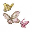 Butterflies Vintage Elegance Embroidery Design