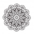 Sublime Symmetry Embroidery Design