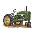 Tractor Rustic Farm Embroidery Design