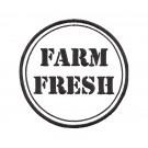 Farm Fresh Rustic Farm Embroidery Design