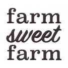 Farm Sweet Farm Rustic Farm Embroidery Design