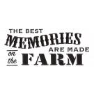 Farm Memories Rustic Farm Embroidery Design