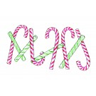 CANDY CANE BORDER PREMIUM SINGLE DESIGN