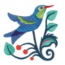 Jacobean Hummingbird 3
