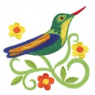 Jacobean Hummingbird 6