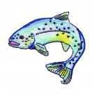 Trout Free Embroidery Design