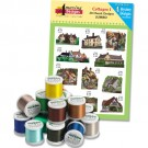 Cottages With Madeira 18-Spool Thread Kit